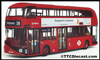 CORGI OM46601 Arriva NBfL - LT - Designed for londoners - Route 38 Victoria - PRE OWNED